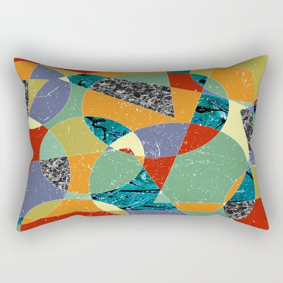 Abstract #100 Rectangular Pillow