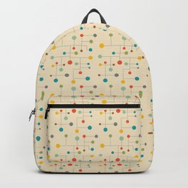 Rex / 50s Mid-Century Vintage Retro Pattern Backpack