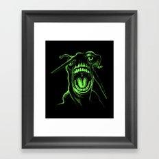 Alien Scream Framed Art Print