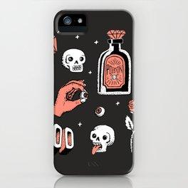 Skeleton Spooky Boye iPhone Case