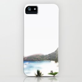 Souvenir from the island iPhone Case
