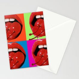 Retro Cherry Stationery Cards