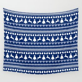 Ugly Chrismukkah Sweater Wall Tapestry