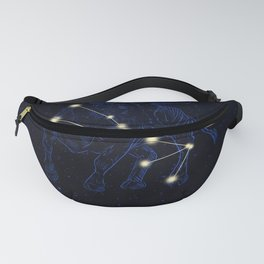 Zodiac constellations — Taurus Fanny Pack