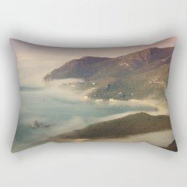 Foggy Ocean Rectangular Pillow