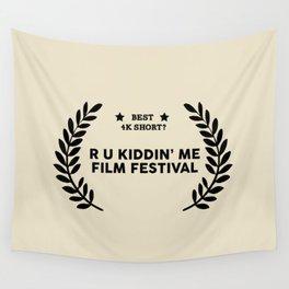 Film Festival Winner : Best 4K Short Wall Tapestry
