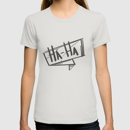 Haha Speech Bubble T-shirt
