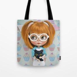 Erregiro Blythe Custom Doll Carmencita & Sócrates Tote Bag