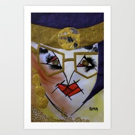 Royal Favour tetkaART Art Print