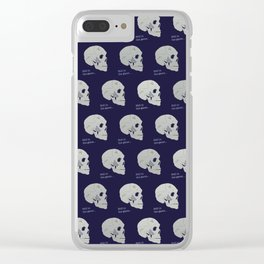 Still in the game Clear iPhone Case