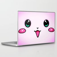 kawaii Laptop & iPad Skins featuring KAWAII by Ylenia Pizzetti