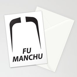 Fu Manchu Stationery Cards