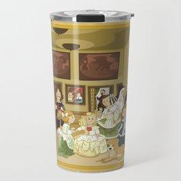 The Maids of Honour by Velázquez (Las Meninas)  Travel Mug