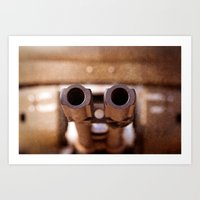 welcome Art Prints featuring Welcome by digital2real