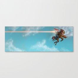 Rocket Dog Canvas Print