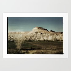 Colorado Plateau Art Print