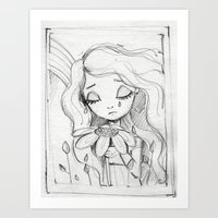... dreaming ...  Art Print
