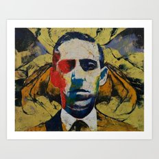 Lovecraft Art Print