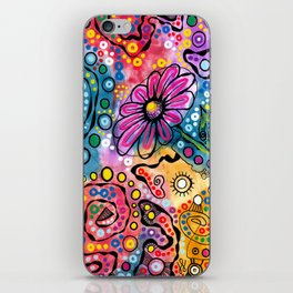 """Tie-Dye Wonderland"" iPhone Skin"