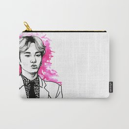 Pink SHINee Key Kibum Carry-All Pouch