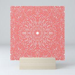 Pink Dot Dot Mandala Mini Art Print