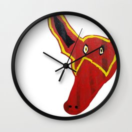 Renard. Fox. Wall Clock