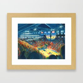 Allen Field House Framed Art Print