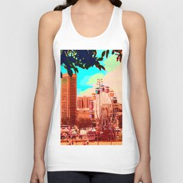 Baltimore Ferris Wheel Unisex Tank Top
