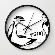 Along the way we'll lose harm Wall Clock
