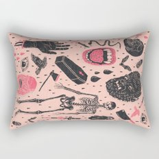 Whole Lotta Horror Rectangular Pillow