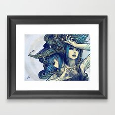 Zodiac Sign: Gemini Framed Art Print