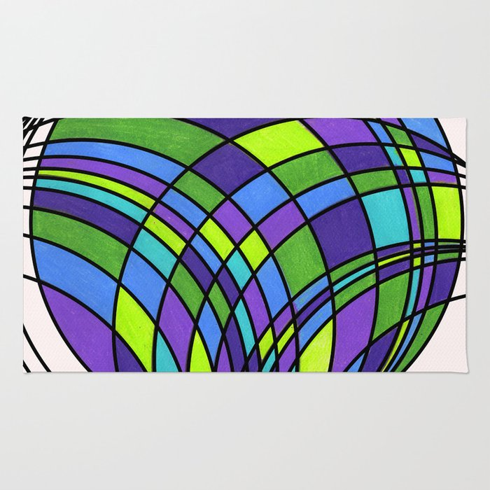 Circle Series #1 Rug
