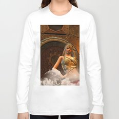 The wonderful steampunk lady Long Sleeve T-shirt