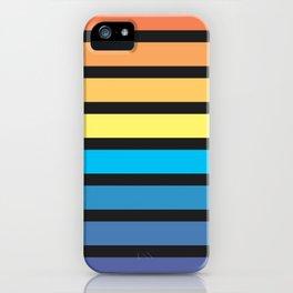Stripe Sunset iPhone Case