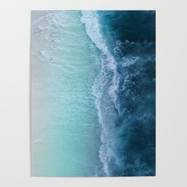 Turquoise Sea Poster