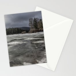 Fish Lake in Transition Stationery Cards