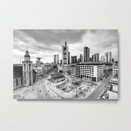 Frankfurt | Hauptwache Metal Print