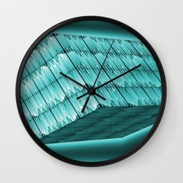 Floating and lightning box Wall Clock