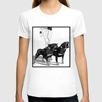 rottweiler T-shirts featuring Fashion Rottweiler  by Gregory Casares