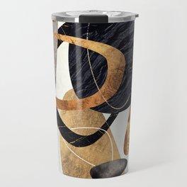 Abstract Pebbles III Travel Mug