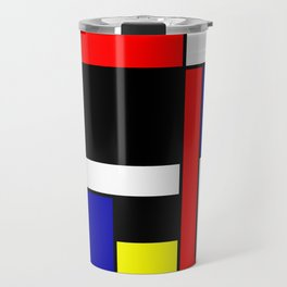 Mondrian #70 Travel Mug