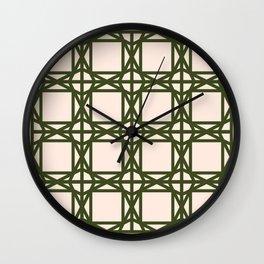 DG GEOMETRIC – KHAKI Wall Clock