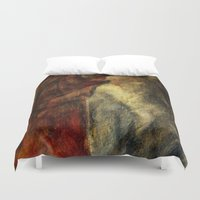 poetry Duvet Covers featuring poetry studies by Imagery by dianna