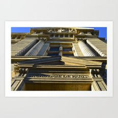 Academie De Paris Art Print