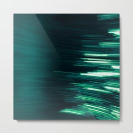 Green Vibes Metal Print