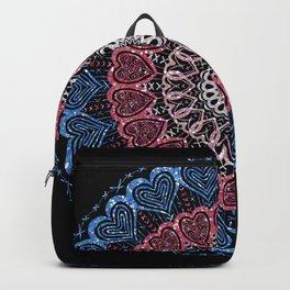Glittering Heart Backpack