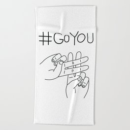 #GoYou Beach Towel