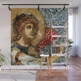 Figure Painting Angel Wall Mural