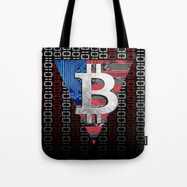 bitcoin USA  Tote Bag