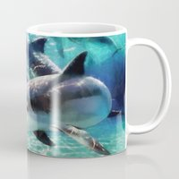 dolphin Mugs featuring Dolphin by A.Aenska-Cholpanova